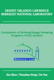 Comparison of Building Energy  Modeling Programs: HVAC Systems