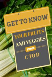 Get to Know Your Fruits and Veggies from C to D