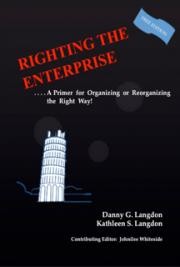Righting the Enterprise - A Primer For Organizing Or Re-Organizing The Right Way