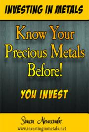 Know Your Precious Metals Before