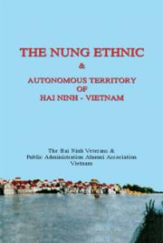 The Nung  Ethnic and Autonomous Territory of Hai Ninh – Vietnam