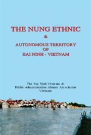 The Nung  Ethnic and Autonomous Territory of Hai Ninh – Vietnam
