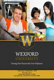 Wexford University Catalog Online Fitness Personal Trainer Nutrition Sport Psychology Degree Programs