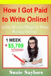 Paid to write online