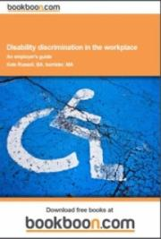 Disability discrimination in the workplace  cover