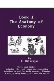 Anatomy of Economy - Book 1 (1 of 3 On Root Cause and Solutions to Economic Down Turn and Poverty)