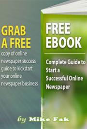 Free eBook for Starting an Online Newspaper