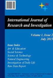 International Journal of Research and Investigation, Vol. 1
