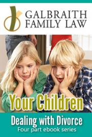 Dealing with Divorce 4 Part EBook Series: Your Children (Part 2)