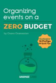 Organizing Events on a Zero Budget