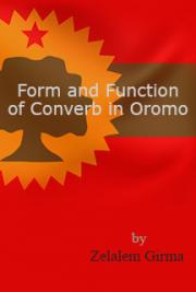 Form and Function of Converb in Oromo