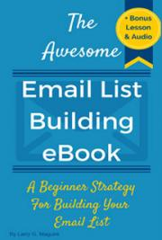 The Awesome Email List Building eBook