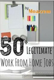 50+ Legitimate Work From Home Job Opportunities