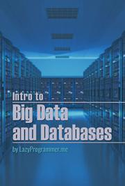 Intro to Big Data and Databases