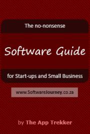 No Nonsense Software Guide for Start-ups and Small Businesses