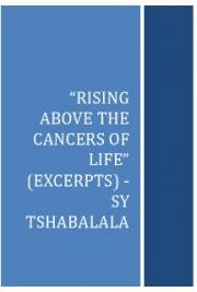 Rising Above  the Cancers of Life
