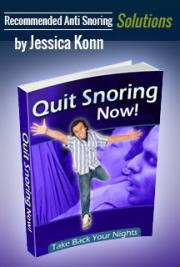 Quit Snoring Now - Recommended Anti Snoring Solutions