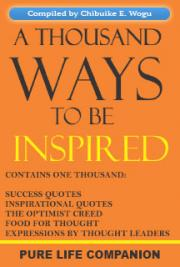 A Thousand Ways to be Inspired