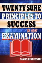 Twenty Sure Principles To Success In Any Examination