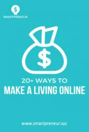 20+ Ways To Make A Living Online
