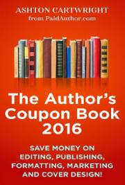 The Author's Coupon Book 2016