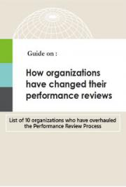 Organisations Changing Their Performance Reviews : A Quick Guide