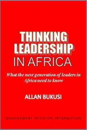 Thinking Leadership in Africa