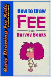 How to Draw Fee from Harvey Beaks