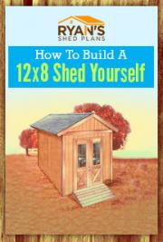 How To Build A 12 X 8 Shed Yourself