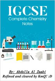 IGCSE Complete Chemistry Notes