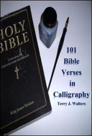 101 Bible Verses in Calligraphy