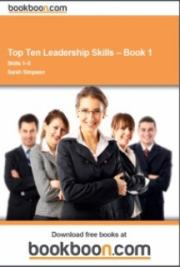 Top Ten Leadership Skills – Book 1 cover