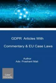 GDPR Articles With Commentary & EU Case Laws
