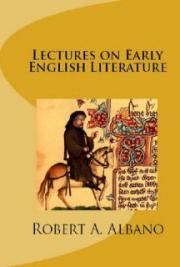 Lectures on Early English Literature