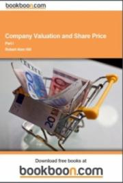 Company Valuation and Share Price cover