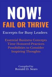 NOW! Fail or Thrive Excerpts for Busy Leaders