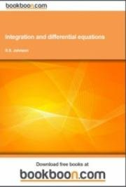 Integration and differential equations cover