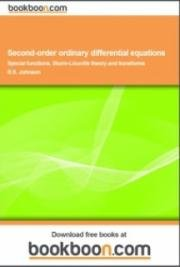 Second - Order Ordinary Differential Equations