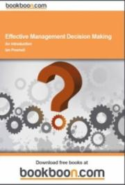 Effective Management Decision Making cover