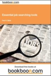 Essential job searching tools cover