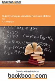 Stability Analysis via Matrix Functions Method