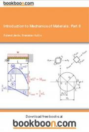 Introduction to Mechanics of Materials: Part II