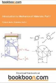 Introduction to Mechanics of Materials: Part I