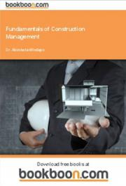 Fundamentals of Construction Management
