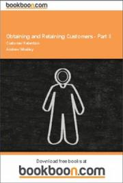 Obtaining and Retaining Customers - Part II
