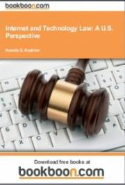 Internet and Technology Law: A U.S. Perspective