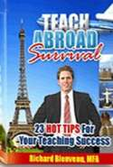 Teach Abroad Survival: 23 Hot Tips for Your  ESL Teaching Success