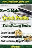 How to Make Quick Profits from the Falling Stocks