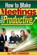 How to Make Meetings More Productive