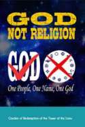 God Not Religion
